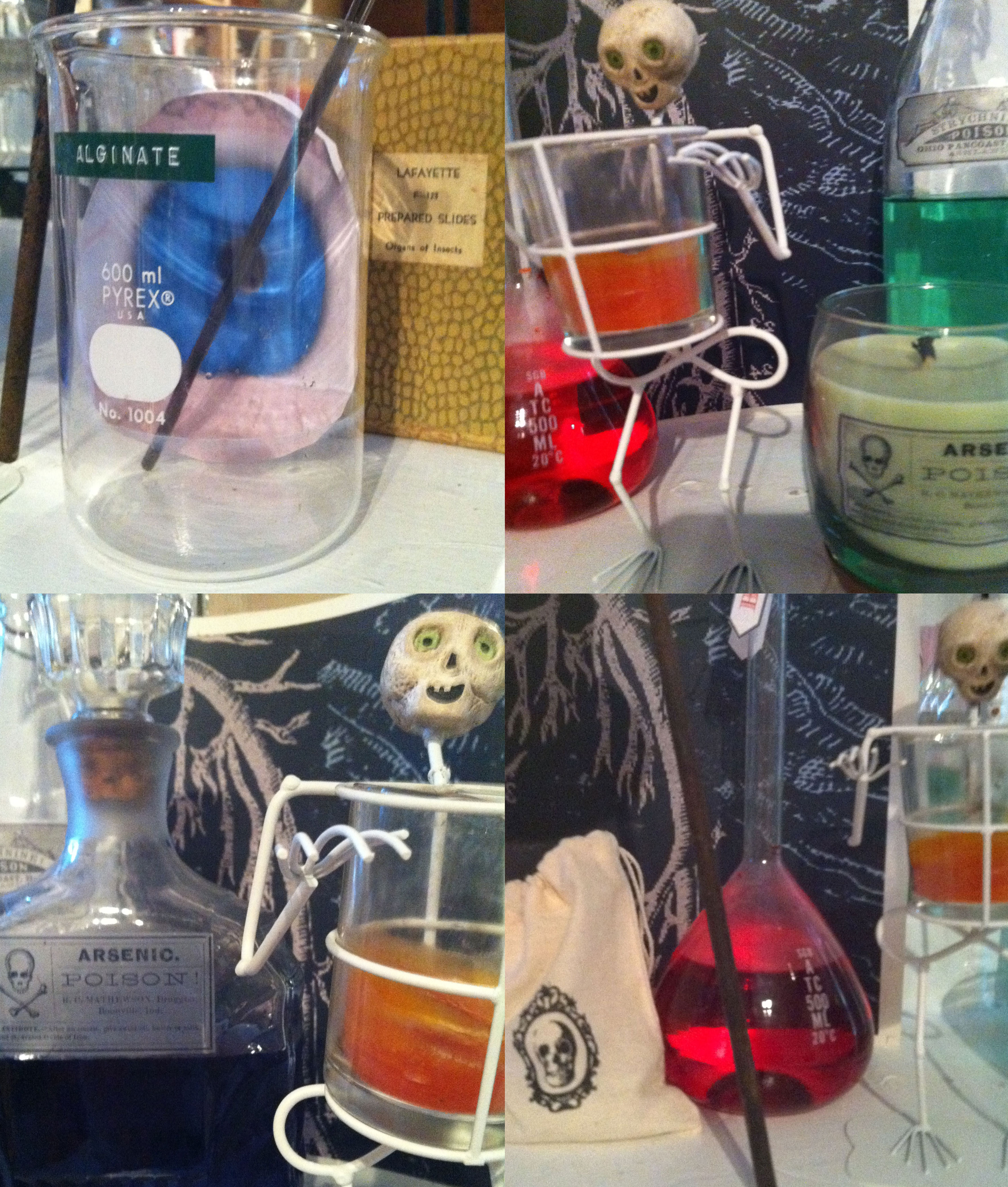 The Mad Scientists Lab Experiments With Halloween Decor