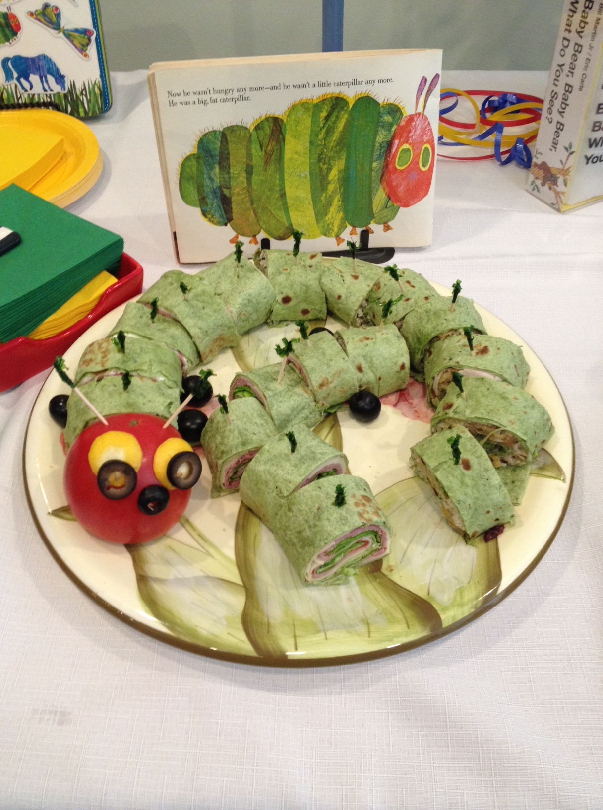 A Very Hungry Caterpillar Baby Shower Artful Intuition